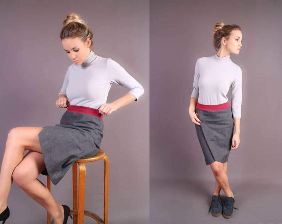 Body Barca and skirt Petalo by Vivalelisa